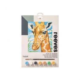 Reeves Medium Paint by Numbers (Giraffe)