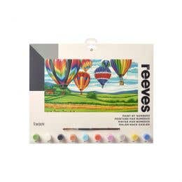 Reeves Large Paint by Numbers (Hot Air Balloons)