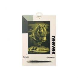 Reeves Gold Scraperfoil (Horse)