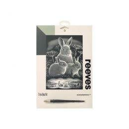Reeves Silver Scraperfoil (Rabbits)
