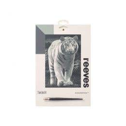 Reeves Silver Scraperfoil (White Tiger)