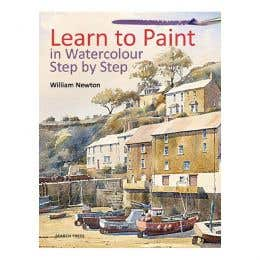 Learn to Paint in Watercolour Step by Step Book