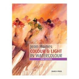 Jean Haines Colour & Light in Watercolour Book