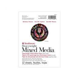 Strathmore Series 500 Softcover Mixed Media Pad