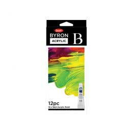 Jasart Byron Acrylic Paint 12ml Set