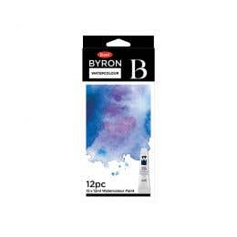 Jasart Byron Water Colour Paint Set 12ml