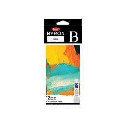 Jasart Byron Oil Paint Set 12ml