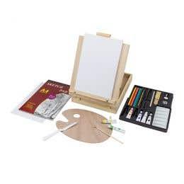 Art Advantage 53 Piece Sketch & Paint Set