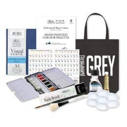 Winsor & Newton Wayfarer Professional Water Colour Gift Set