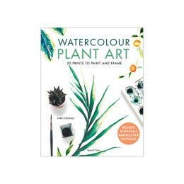 Watercolour Plant Art Book