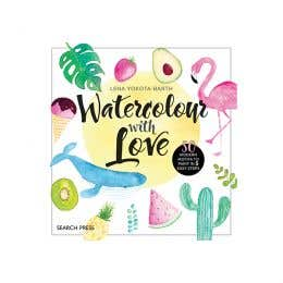 Watercolour with Love Book