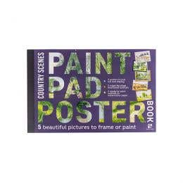 Paint Pad Poster Book Country Scenes