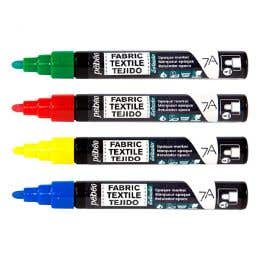 Pebeo 7A Opaque Fabric Markers