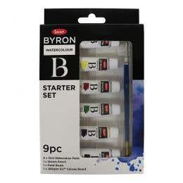 Jasart Byron Watercolour Paint Starter Set