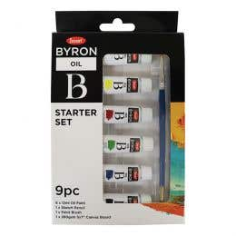 Jasart Byron Oil Paint Starter Set