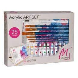 Art Advantage Acrylic Art Set of 25