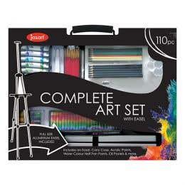 Jasart Complete Art Set with Easel