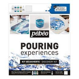 Pebeo Pouring Experiences Discovery Kit