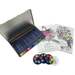 Watercolour Creative Colouring Box