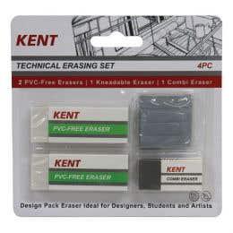 Kent Technical Eraser Pack