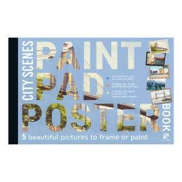 Paint Pad Poster Book City Scenes Book