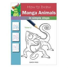 How to Draw Manga Animals Book