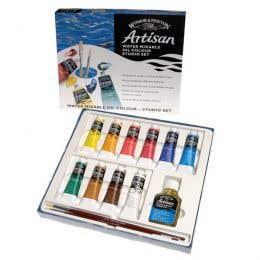Winsor & Newton Artisan Water Mixable Oil Colour Studio Set