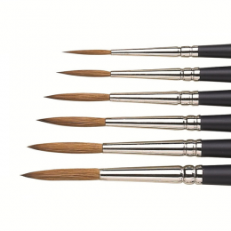 Winsor & Newton Artists' Water Colour Sable Rigger Brushes