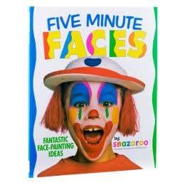 Snazaroo Five Minute Faces Book