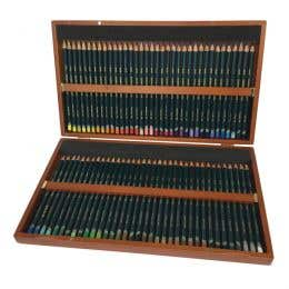 Derwent Artists Pencil Wooden Box Set of 72