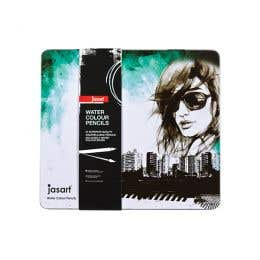 Jasart Water Colour Pencil Tin Sets
