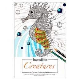 Incredible Creatures Creative Colouring Book
