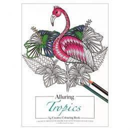 Alluring Tropics Creative Colouring Book