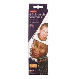 Derwent Coloursoft Skintone Pencil Tin Set