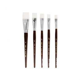 Neef 980 Taklon Long Flat Brushes