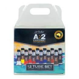 A>2 Art Students Acrylic Paint Sets