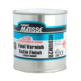 Matisse Turps-Based Satin Varnishes