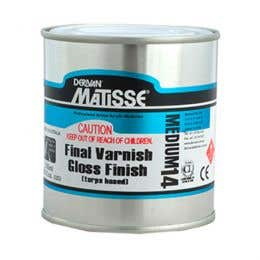Matisse Turps-Based Gloss Varnishes