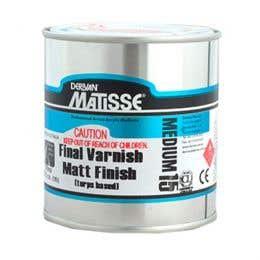 Matisse Turps-Based Matt Varnishes