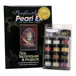 Jacquard Pearl Ex Pigment Powder Series 1 Set & Book