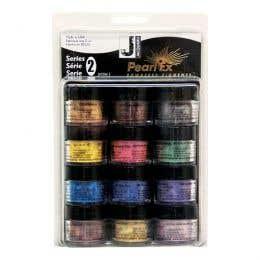 Jacquard Pearl Ex Pigment Powder Series 2 Fashion Colours Set