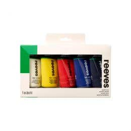Reeves Acrylic 75ml Paint Sets