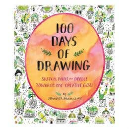100 Days Of Drawing Book