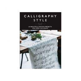 Calligraphy Style Book