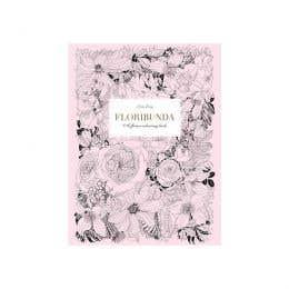 Floribunda - A Flower Colouring Book
