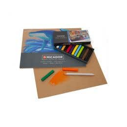Micador For Artists Soft Pastels Combo Pack