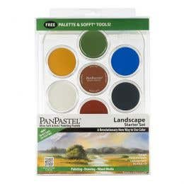 PanPastel Ultra Soft Artists' Pastels Landscape Starter Set