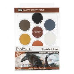 PanPastel Ultra Soft Artist Pastel Sketch & Tone Starter Set
