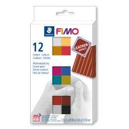 STAEDTLER FIMO Leather-Effect Set