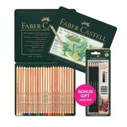 Faber-Castell Pitt Pastel Pencil Bonus Sets